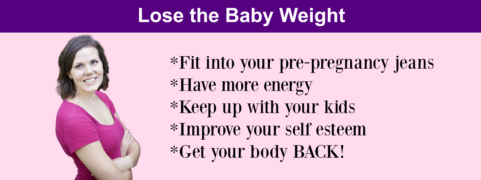lose the baby weight 1