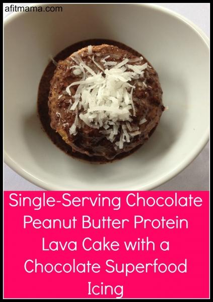 Single Serving Lava Cake Recipe