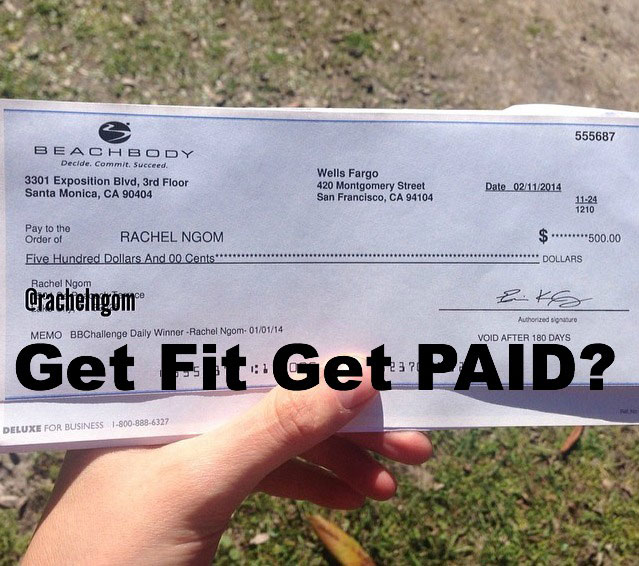 I Won $500 in the Beachbody Challenge…You Can Too!