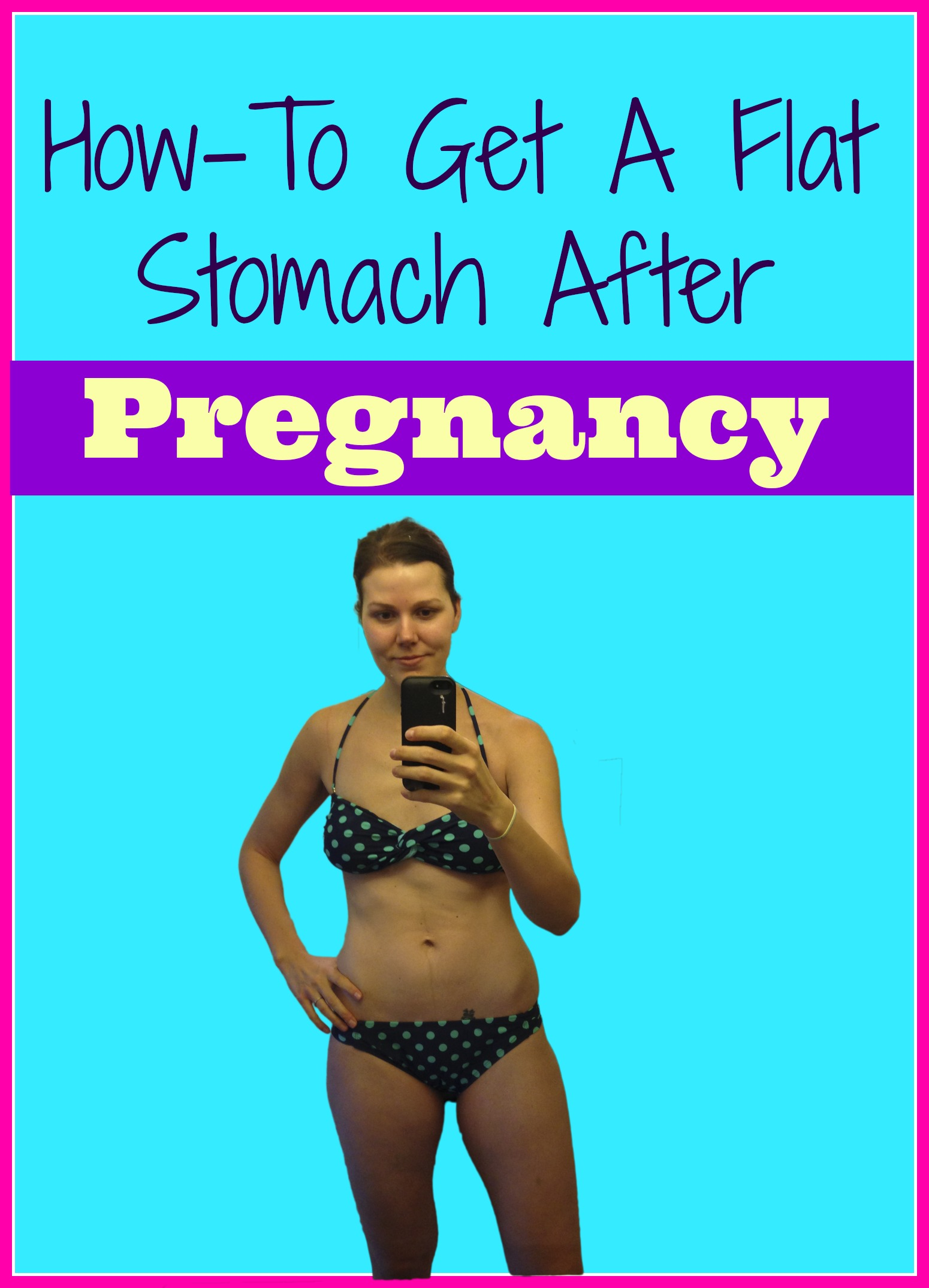 how to get a flat stomach after pregnancy pinterest