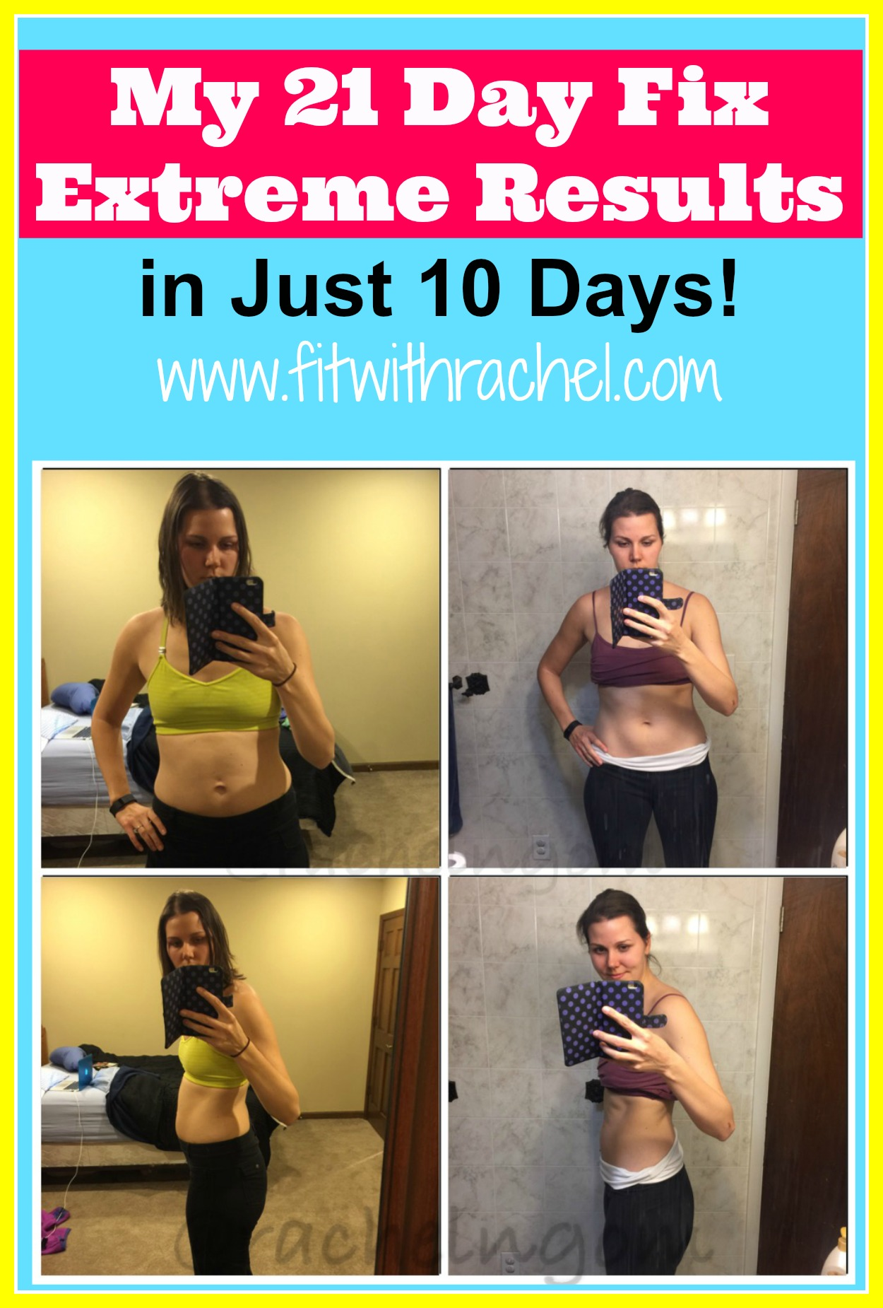 My 10 Must Have Rv Gadgets: My 21 Day Fix Extreme Results On Day 10