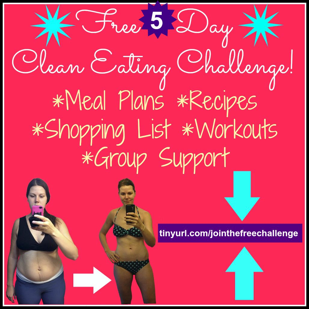 Join Our Free 5 Day Clean Eating Challenge!