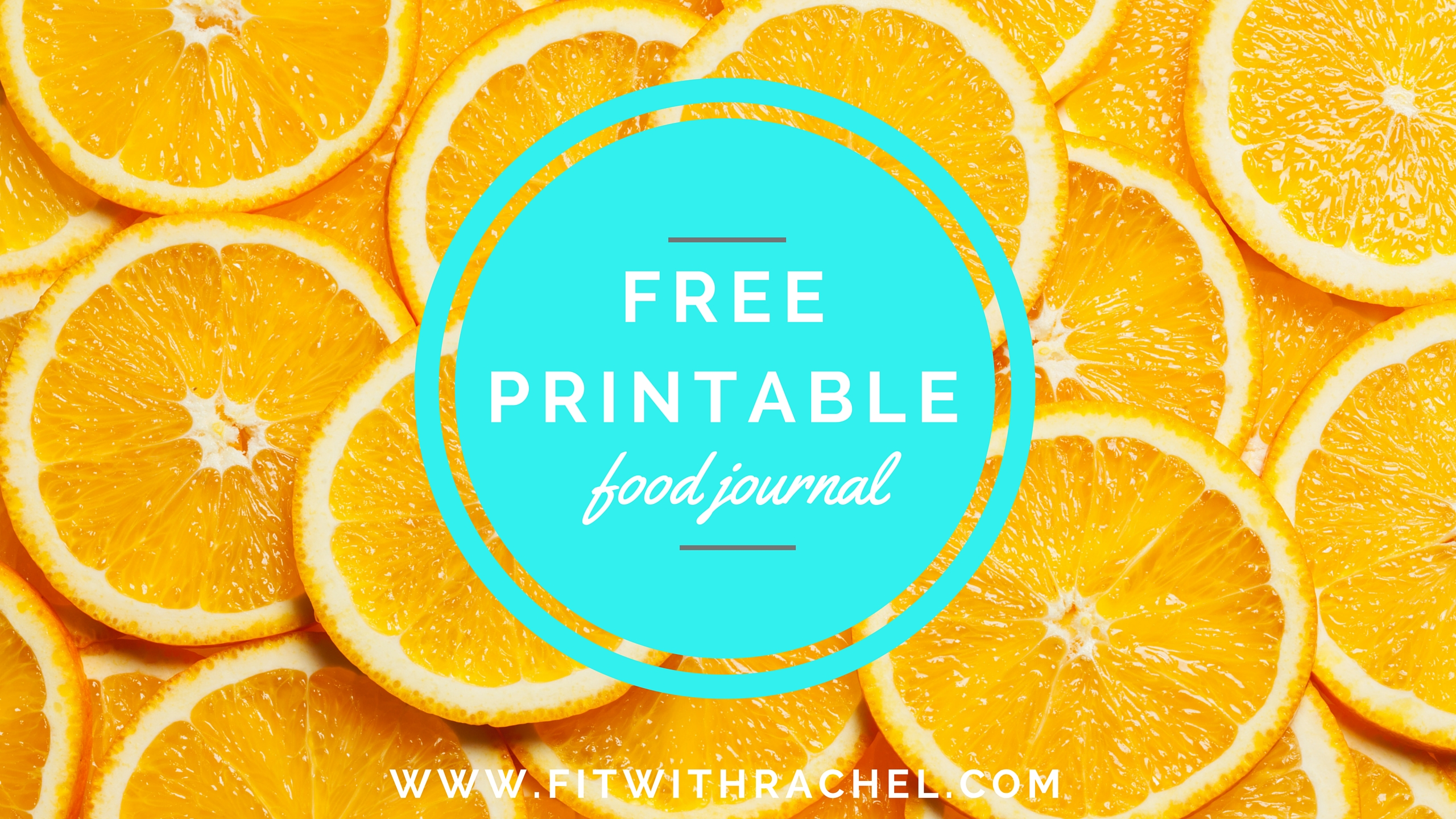 free printable food diary fit with rachel