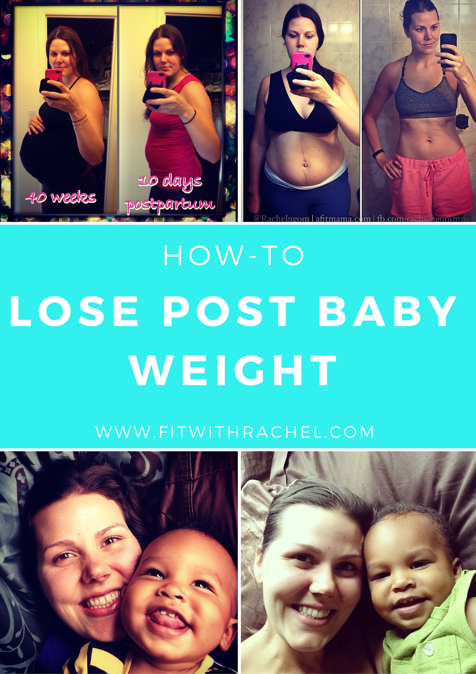 how to lose post baby weight