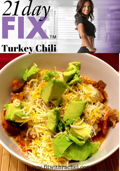 21 Day Fix Turkey Chili