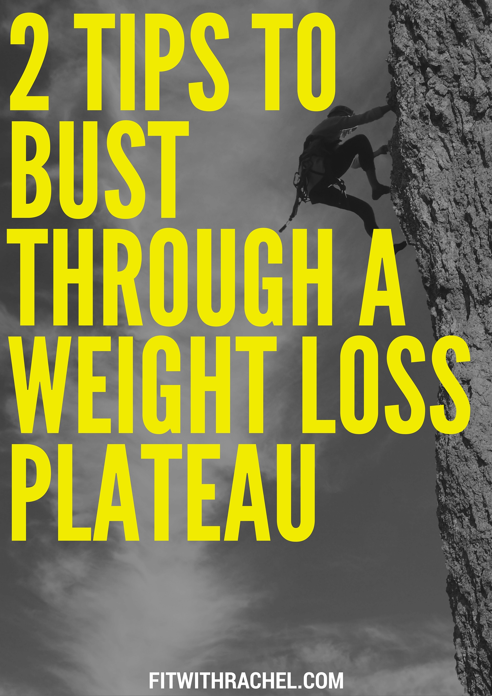2 Tips to Bust Through a Weight Loss Plateau! | Fit with Rachel