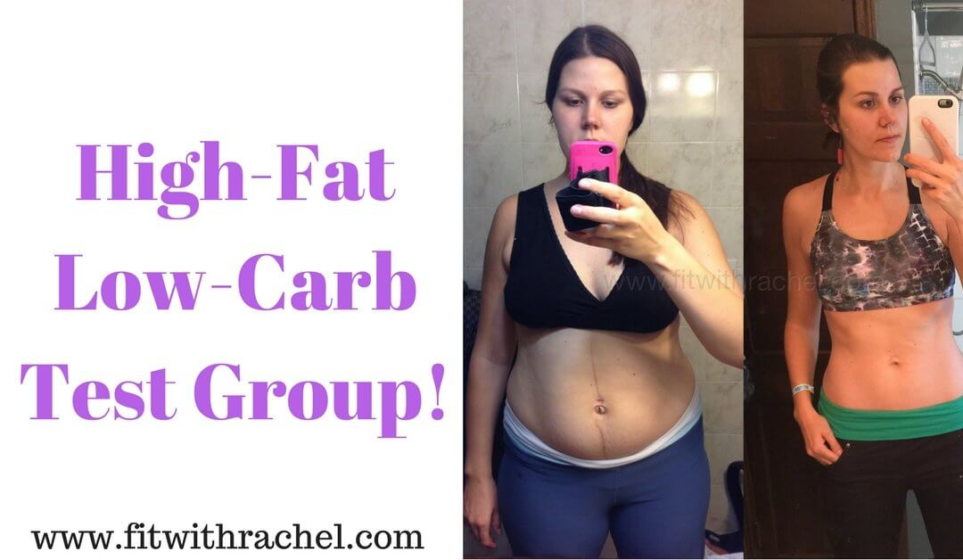 High Fat Low Carb Test Group!