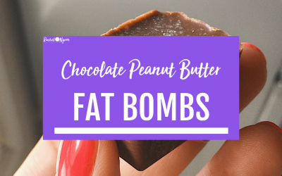Keto Chocolate Peanut Butter Fat Bombs