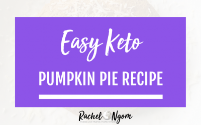 Keto Pumpkin Pie: Easy Low Carb Recipe for Thanksgiving