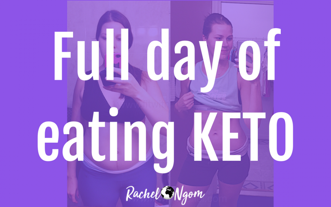 Vlog: Easy Keto Diet Food Plan for Women: Full Day of Eating Keto!